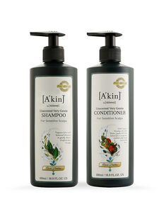 Duo 500ML Mild & Gentle Fragrance Free Shampoo & Conditioner