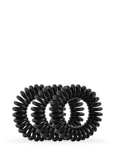 Style Guards Black Kink Free Spirals - 8 Pk