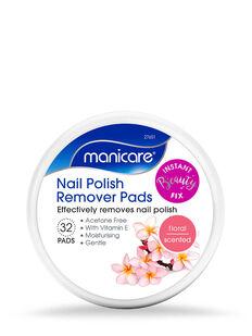Nail Polish Remover Pads - Floral
