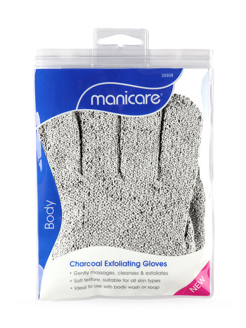 Charcoal Detox Exfoliating Gloves
