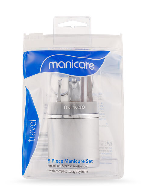 Manicure Set Silver, 5 Piece