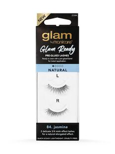 84. Jasmine Glam Ready Pre-Glued Lashes