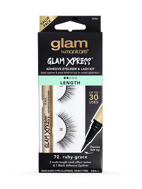72. Ruby-Grace Glam Xpress® Adhesive Eyeliner & Lash Kit