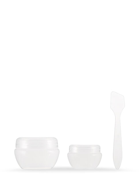 Cosmetic Jars, 2 Pack