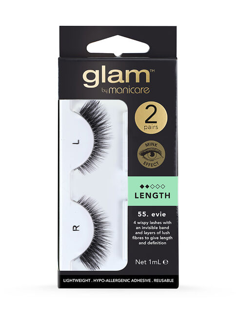55. Evie Mink Effect Lashes 2 Pack