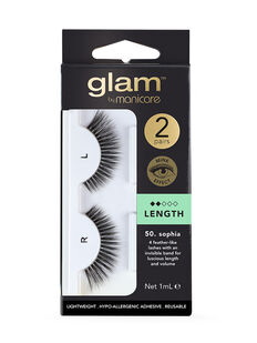 65. Sophia Mink Effect Lashes 2 Pack
