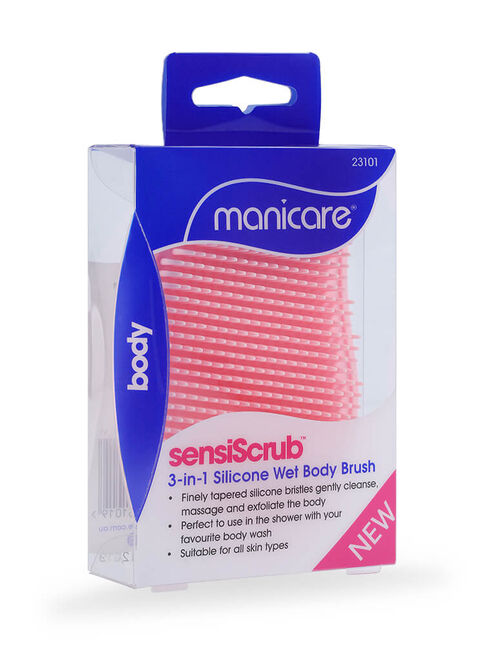 SensiScrub™ 3 in 1 Silicone Wet Body Brush