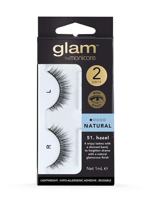 51. Hazel Mink Effect Lashes 2 Pack