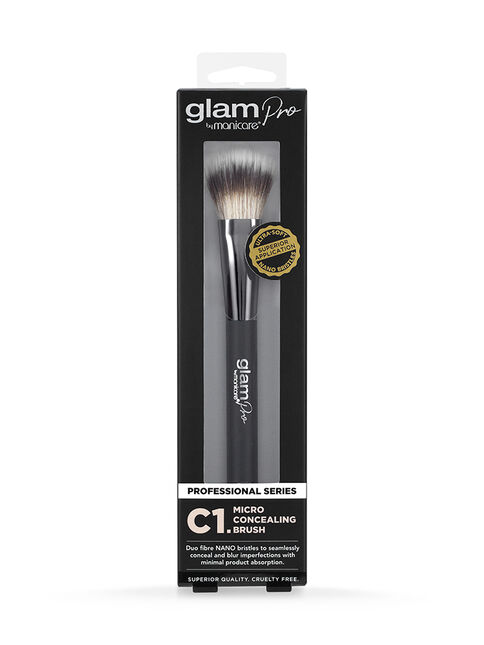 Glam by Manicare® C1. Micro Concealing Brush
