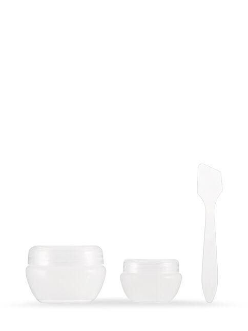 Cosmetic Jars, 2 Pack