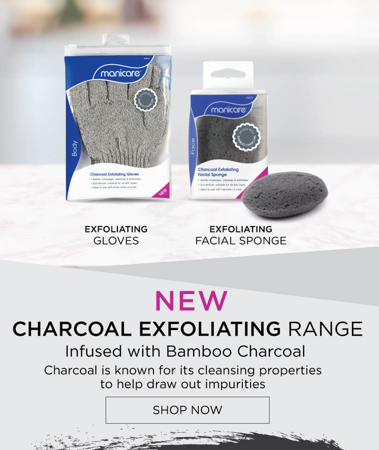 New Charcoal Range - Infused with charcoal to help draw out impurities and reveal soft & glowing skin.